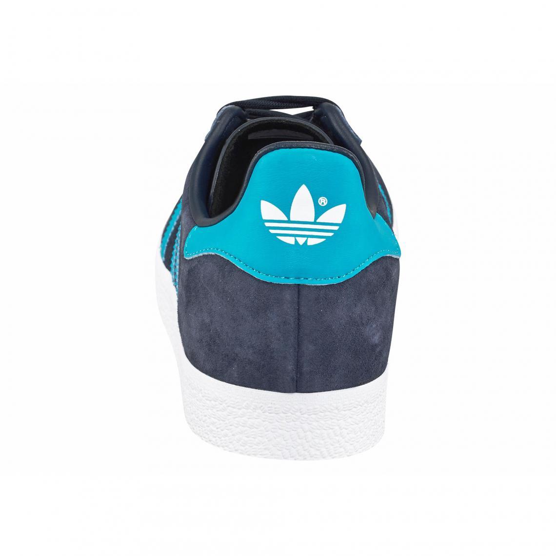 1390e74e86e7c2 Tennis adidas Originals « Gazelle » - Bleu Adidas Originals
