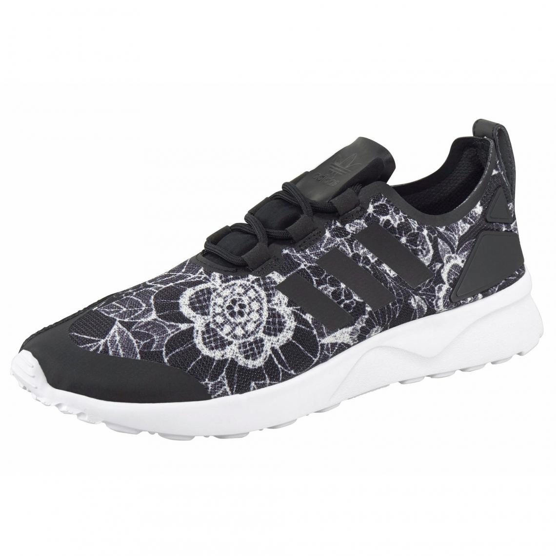 Tennis femme adidas Originals Sneaker ZX Flux ADV Verve Blanc