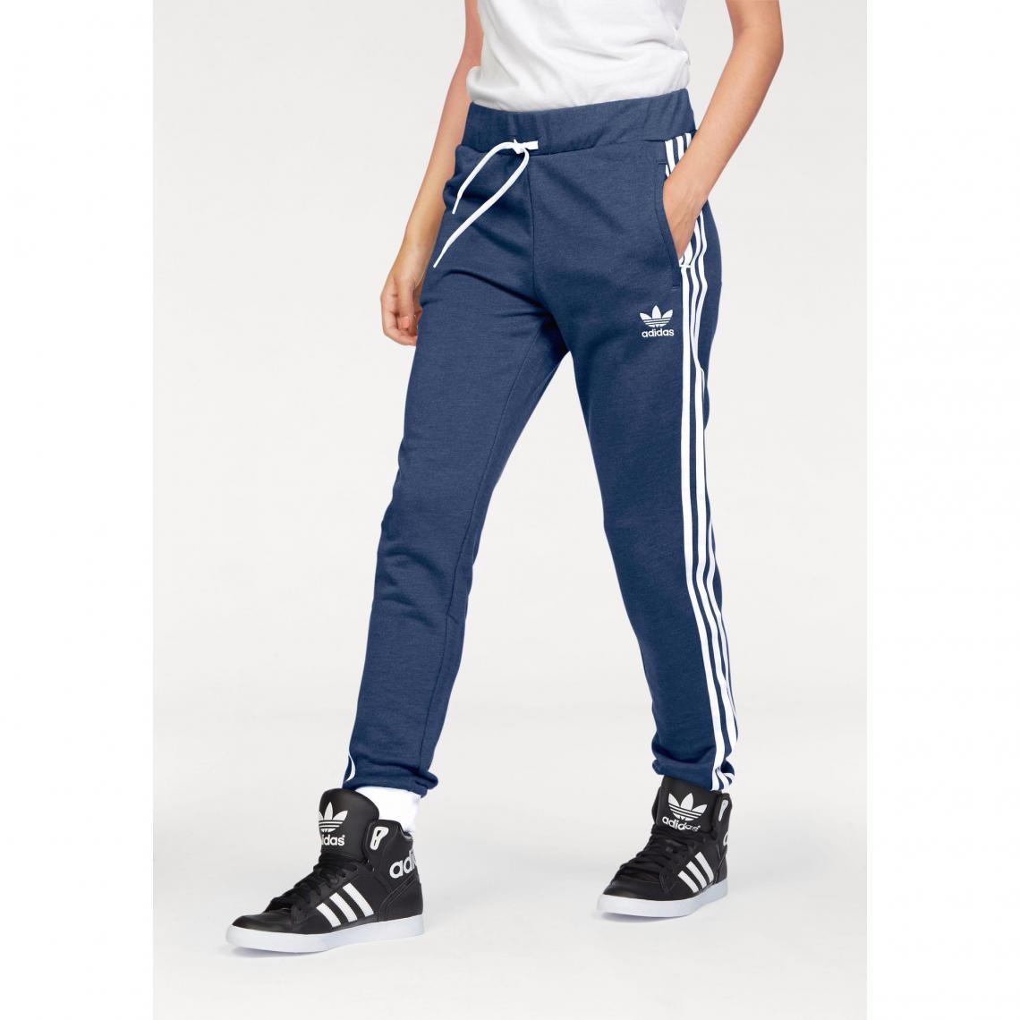 Pantalon de survêtement homme adidas Originals - Bleu Adidas Originals Femme 62c7af3fc09
