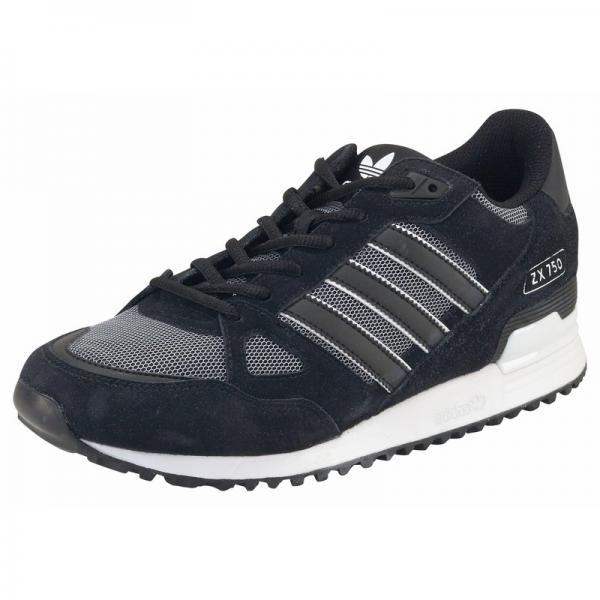 adidas Originals ZX 750 sneakers homme - Noir - Blanc