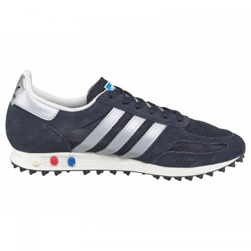detailed look c8fac e857d Adidas Originals - Baskets adidas LA Trainer OG Originals Sneaker - Marine  - Blanc - Chaussures
