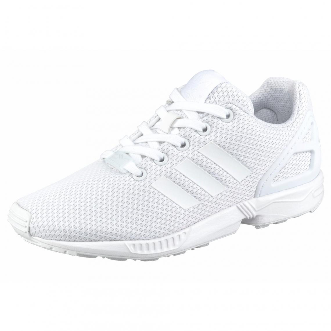 en soldes df1f3 25e32 Sneakers adidas Originals ZX Flux pour junior - Blanc | 3 ...