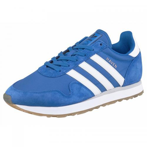 adidas Originals Haven sneakers homme - Bleu - Blanc Adidas Originals Homme