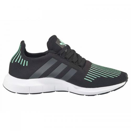 Adidas Originals - adidas Originals Swift Run chaussures running homme - Noir - Vert - Adidas Originals