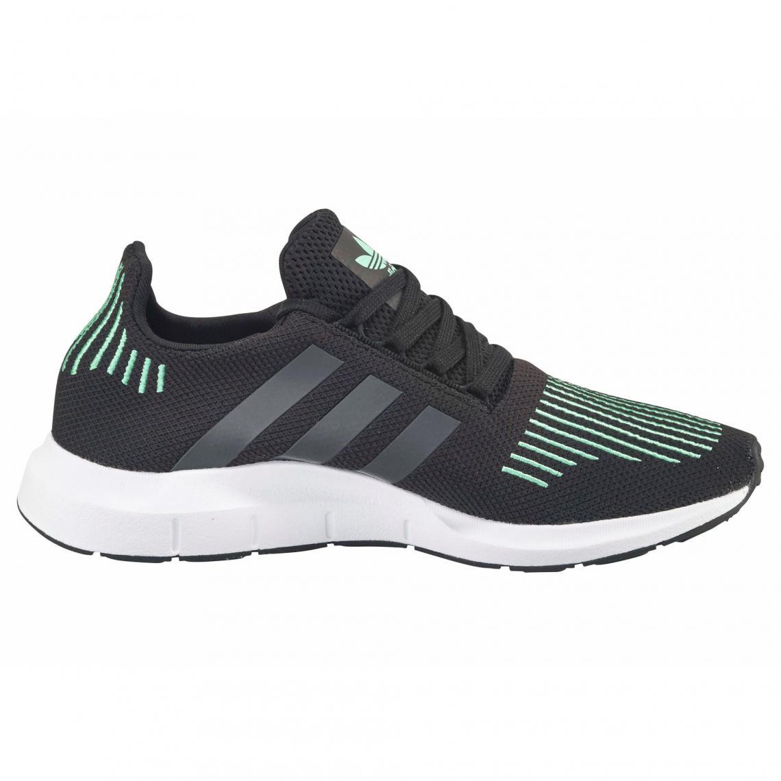 Chaussures Homme Run Noir Vert Running Adidas Swift Originals TFlJ31cuK