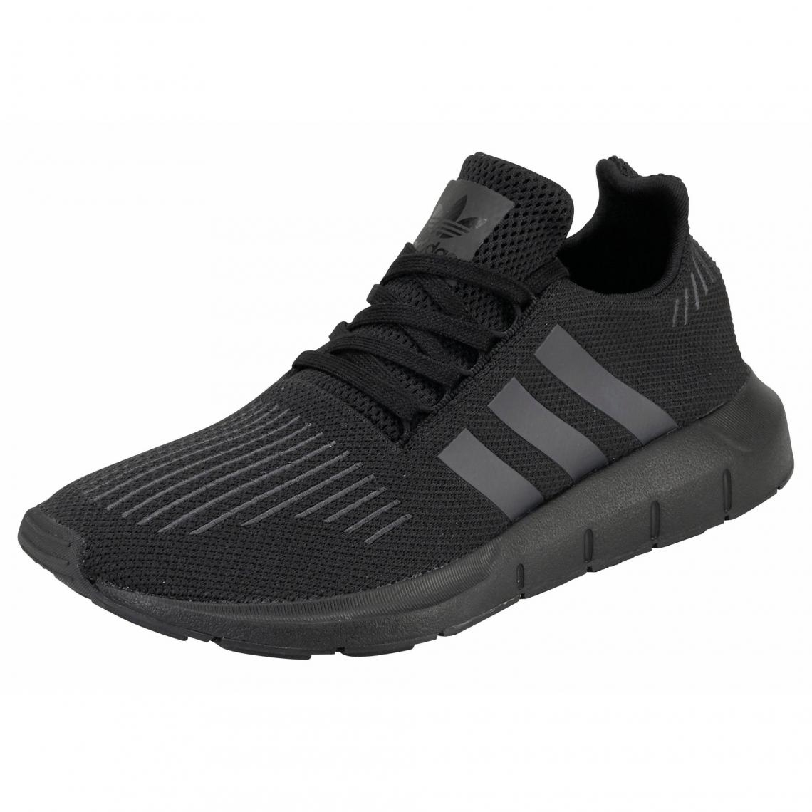 0440c9b1b86974 adidas Originals Swift Run chaussures running homme - Noir Adidas Originals  Homme