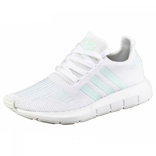 new arrival 4b068 b6c2d Adidas Originals - adidas Originals Swift Run chaussures running femme -  Blanc - Menthe - Adidas