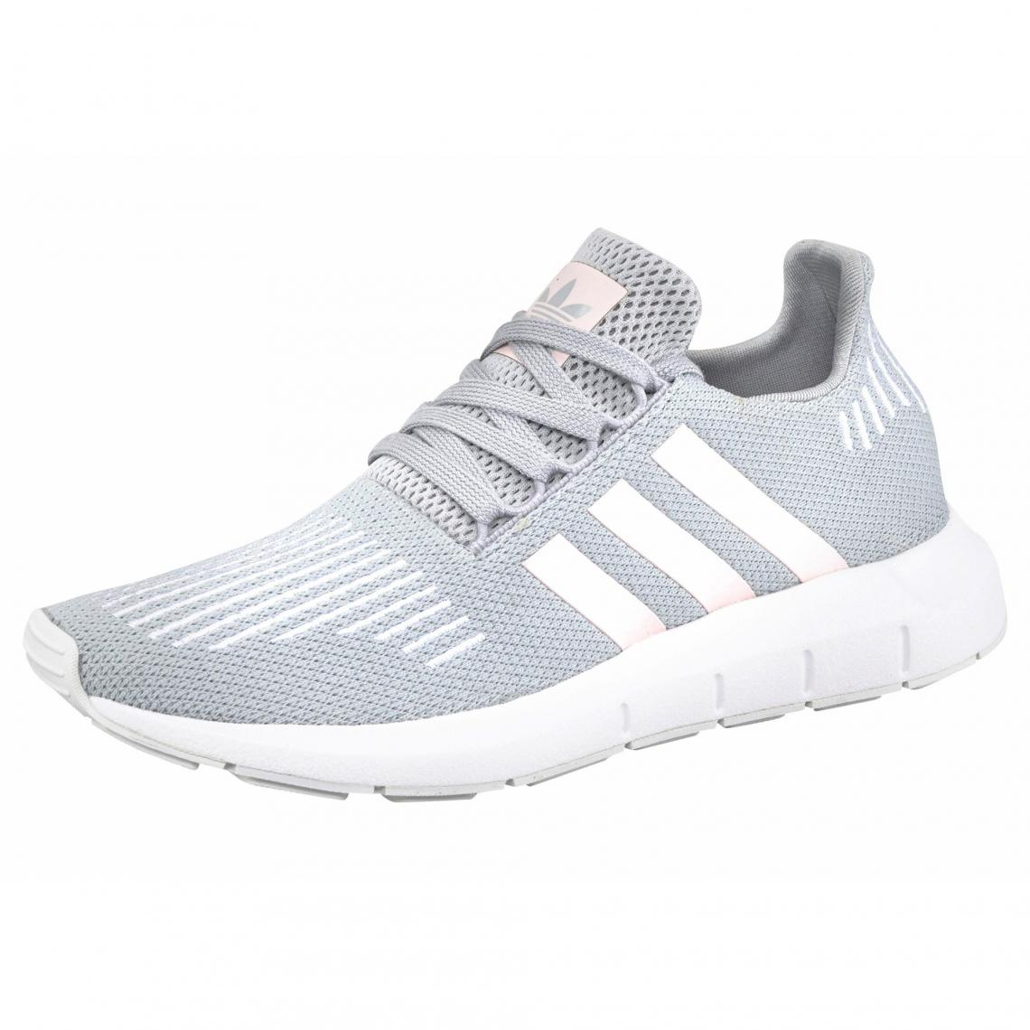 adidas Originals Swift Run chaussures running femme - Gris - Rose Plus de  détails