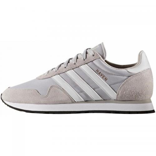 Adidas Originals - adidas Originals Haven sneakers homme - Gris Clair - Blanc - Adidas Originals