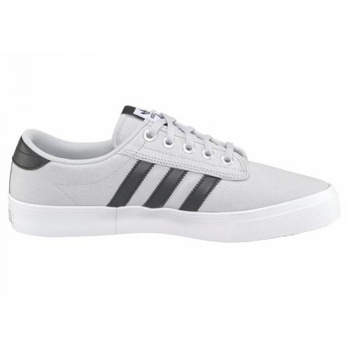 Adidas Originals - Baskets textile femme Kiel adidas Originals - Gris Clair - Noir - Promos vêtements homme