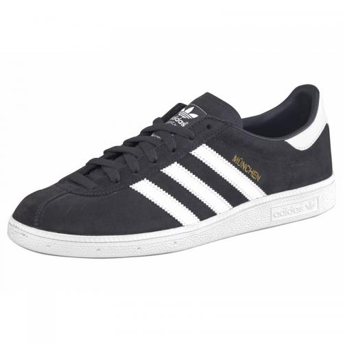 Adidas Originals - Sneakers homme Munich adidas Originals - Gris Anthracite - Blanc - Chaussures homme