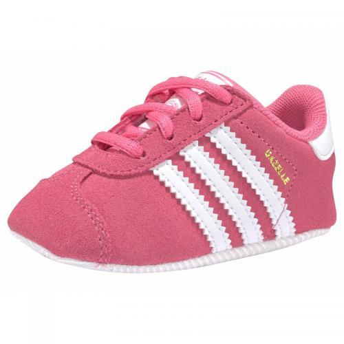 Chaussures premiers pas bébé Gazelle Grib adidas Originals Rose Vif Blanc Adidas Originals