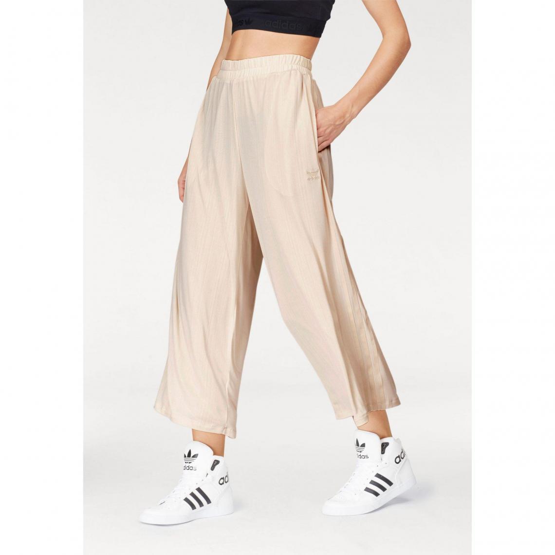 Pantalon de sport 7 8 femme Styling Complements Ribbed adidas Originals -  Nude Adidas Originals b18e100ce54