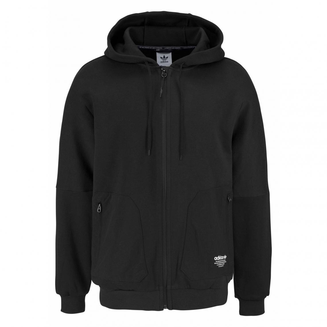Capuche Adidas Originals Zippé Nmd À Manches Longues Sweat Homme nad8I0wx