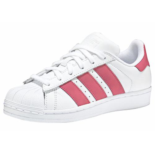 Adidas Originals - Sneakers fille en cuir Superstar J adidas Originals - Baskets