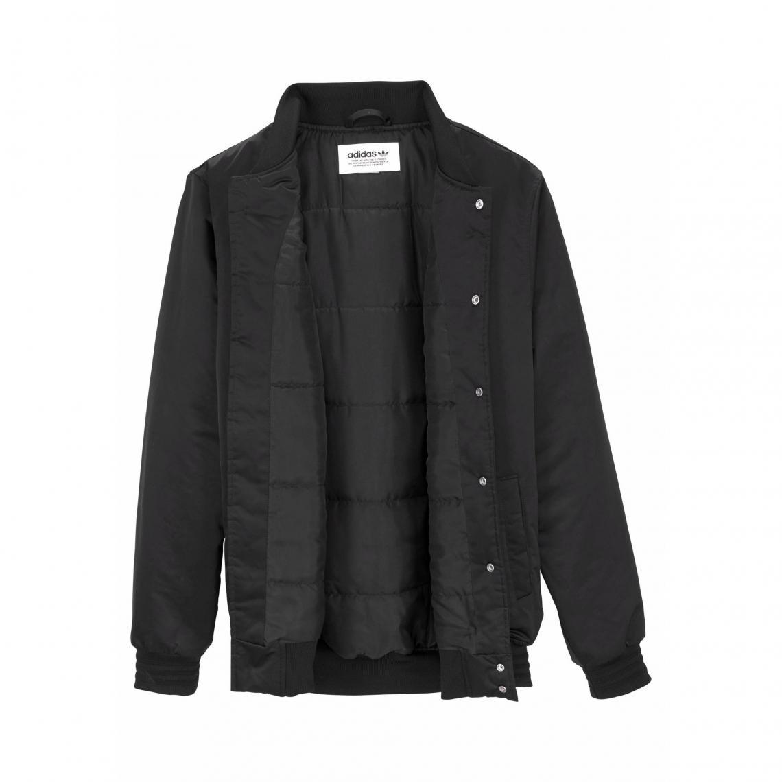 ba38319dcbe Blouson rembourré Stlying Compliments Jacket SST femme adidas Originals -  Noir Adidas Originals