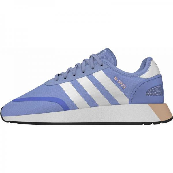 025a257a9a9c Chaussures de sport femme N-5923 adidas Originals - Bleu Clair - Blanc  Adidas Originals