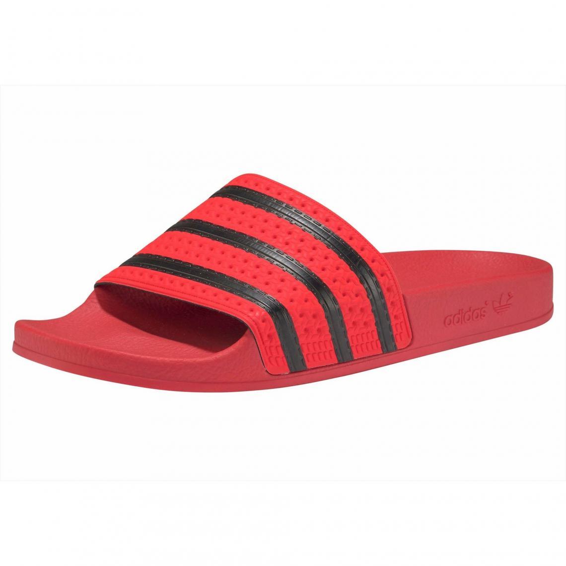 finest selection 2735a 3842a Mules ADILETTE adidas Originals - Rouge - Noir Adidas Originals Femme