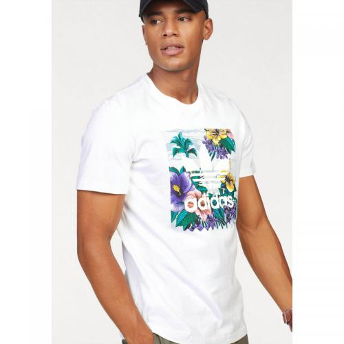 Adidas Originals - T-shirt hommes Adidas originals - Blanc - Promos vêtements homme