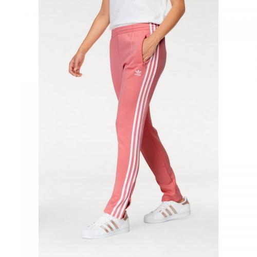 f58bb559988 Adidas Originals - Pantalon de sport SST TP femme adidas Originals® - Rouge  - Pantalons