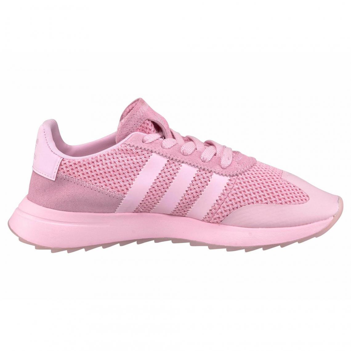 d191bec6f3 Sneakers Adidas Originals Cliquez l'image pour l'agrandir. Sneaker  Originals Flashback W femme adidas - Rose Vif Adidas Originals