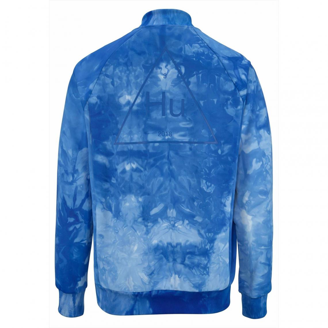 adidas homme veste bleu