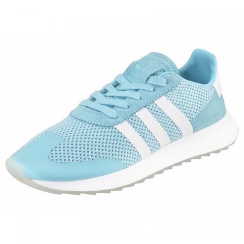 Adidas Originals - Sneaker Originals Flashback W femme adidas - Bleu Pastel  - Baskets femme a3854ea906af