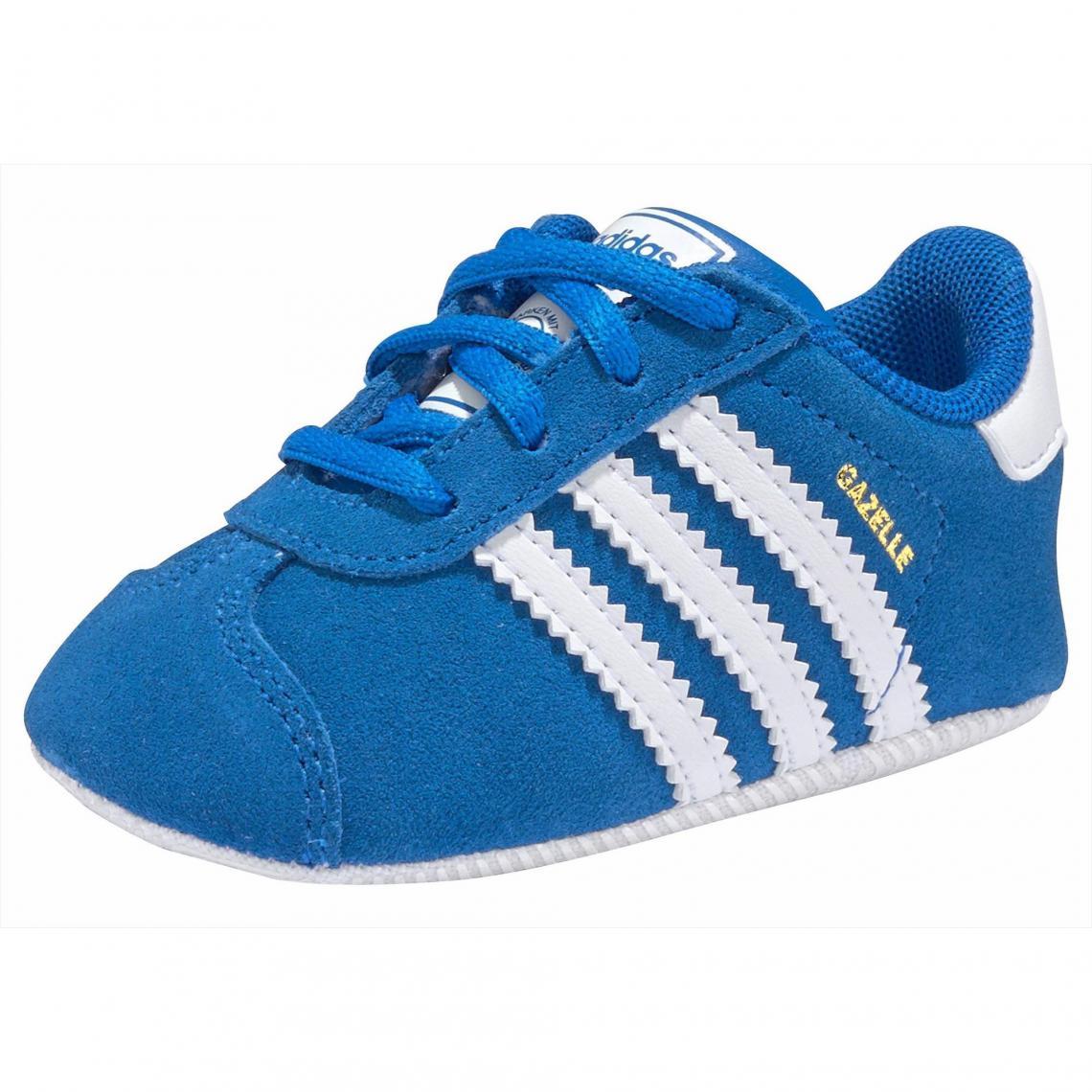 ea56e3983c407 Bébé Gazelle Premiers Adidas Chaussures Bleu Originals Grib Pas w8zFqqxp