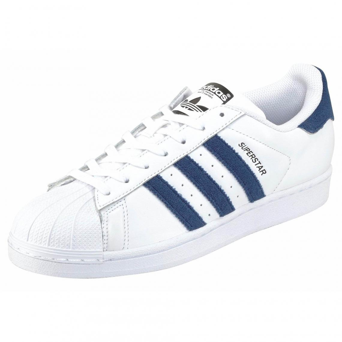 Tennis adidas Originals Superstar East River pour homme - Blanc - Noir -  Bleu Adidas Originals 0c9a4e9011b8