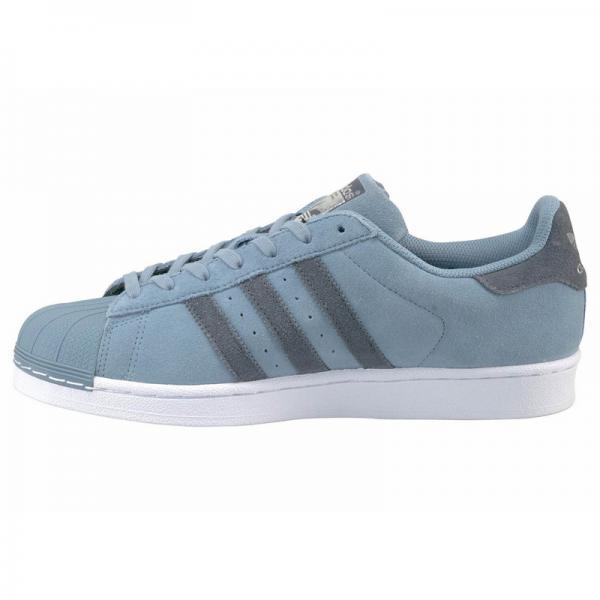 Tennis adidas Originals Superstar East River pour homme - Bleu