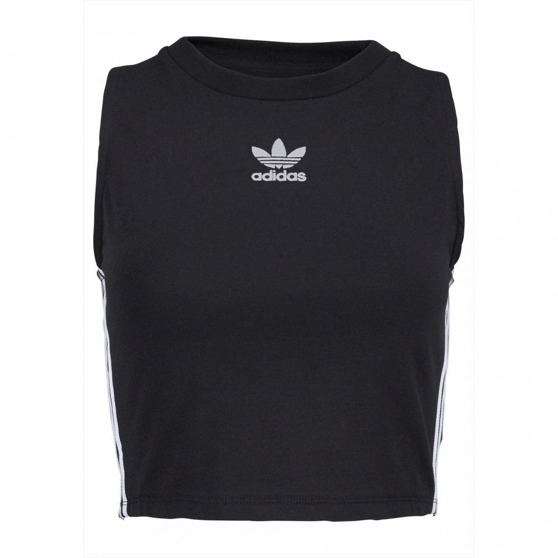 e7ab4b42dc72 Brassière de sport Crop Top femme adidas Originals - Noir Adidas Originals