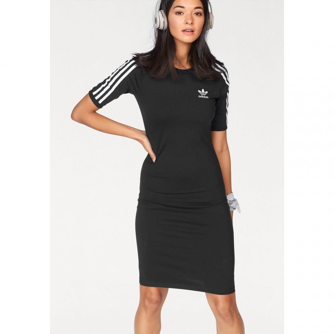 Robe femme adidas Originals - Noir Adidas Originals Femme dae6943d447