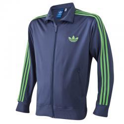 style populaire profiter de prix bas aliexpress Veste zippée sport homme adidas Originals - Bleu 3 Avis