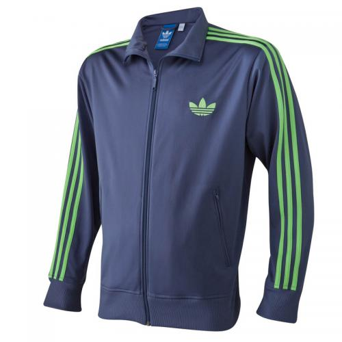 Adidas Originals - Veste zippée sport homme adidas Originals - Bleu -  Vêtements de sport pour 371fb96a975