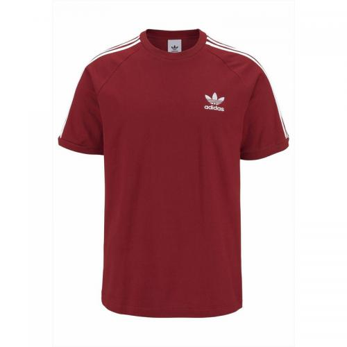 Adidas Originals - T-shirt homme adidas Originals - Rouge - Promos vêtements homme