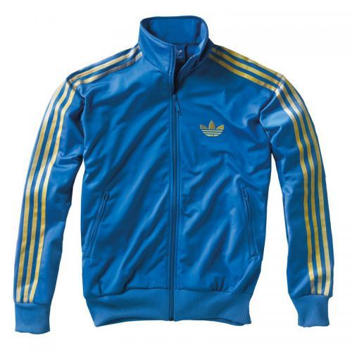 c8cdfb9320 Adidas Originals - Veste zippée sport homme adidas Originals - Bleu -  Vêtement de sport