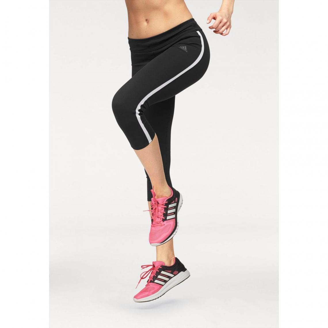 Legging 3 4 femme Climacool reg Response adidas Performance - Noir - Rose  Adidas Performance Femme 5cc0246b518