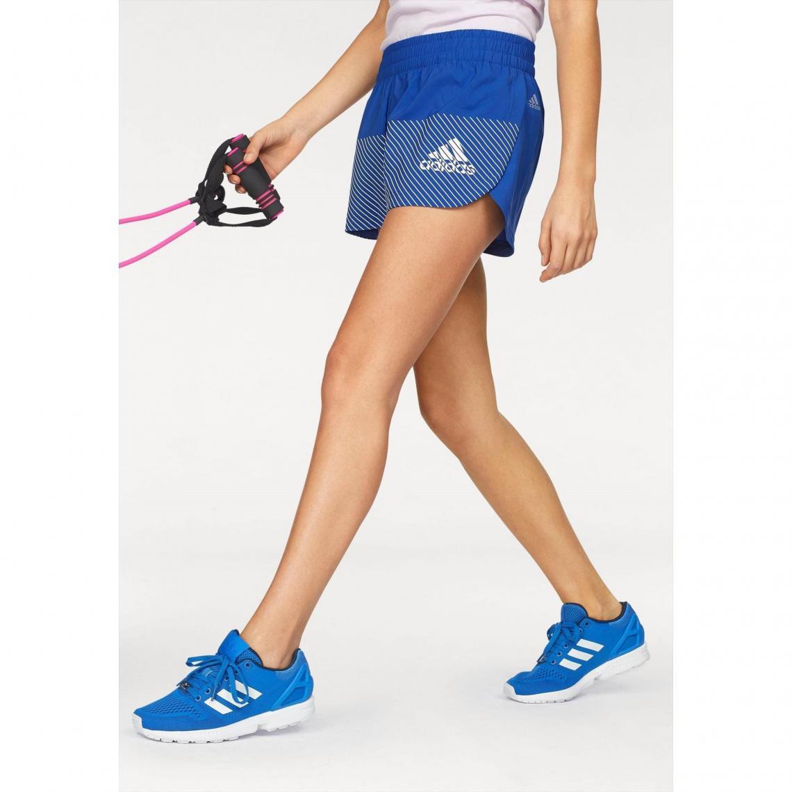 Short femme Adidas Performance - Bleu Adidas Performance Femme c30105d256c
