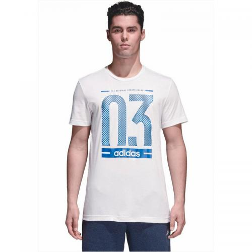 Adidas Performance - T-shirt hommes adidas Performance - Blanc - Promos vêtements homme