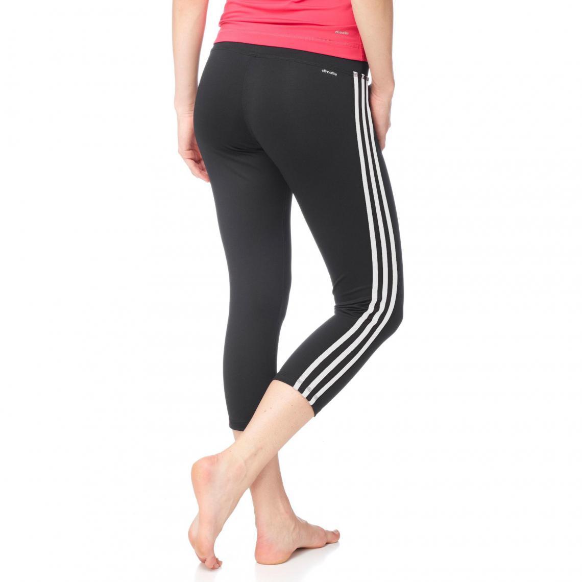 Pantalon legging 34 sport femme Climalite adidas - Noir  28f2c22fedc