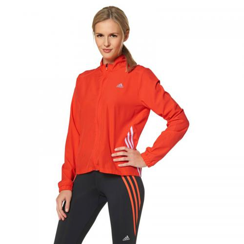 Adidas Performance - Veste running femme zippée Climalite adidas Performance - Orange - Le sport