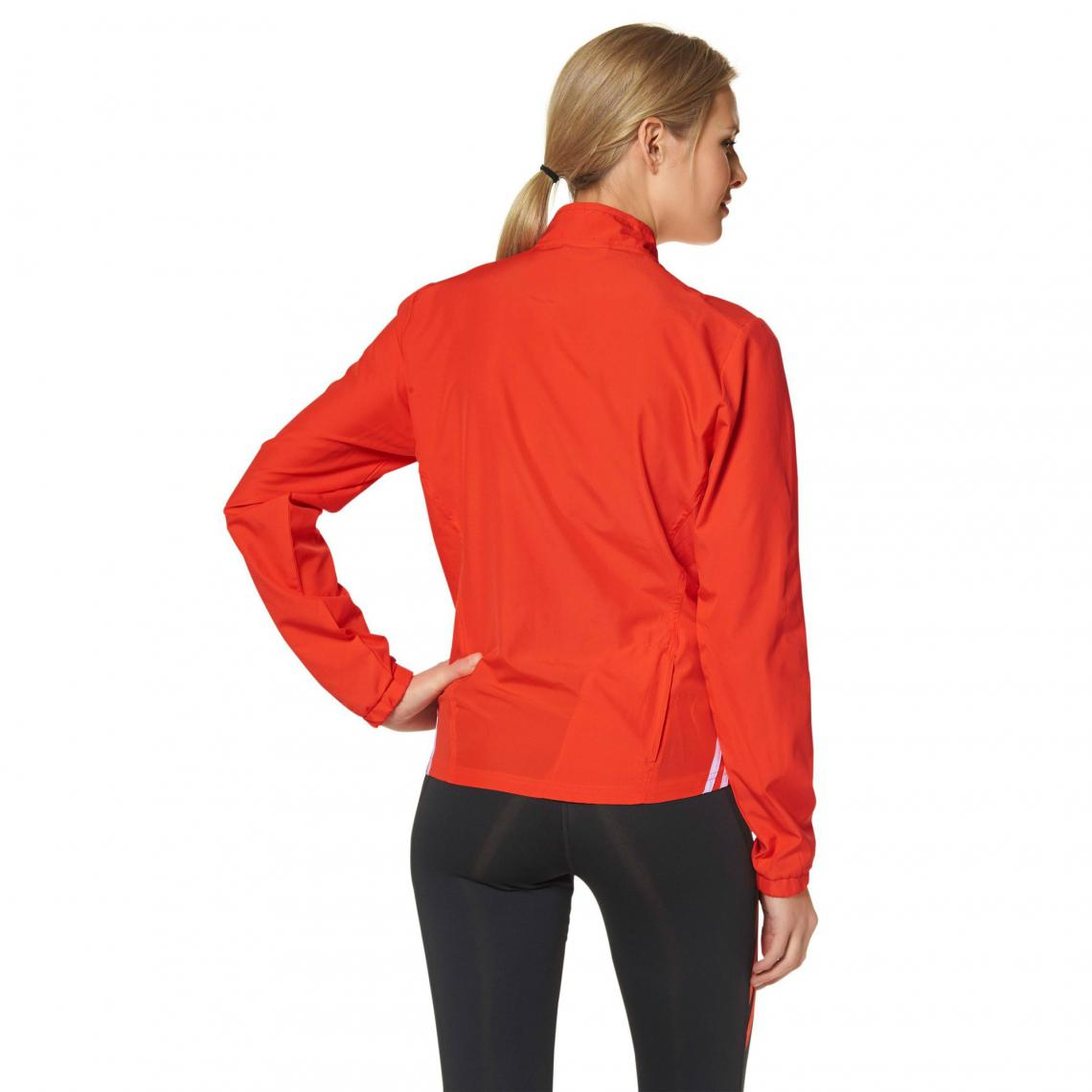 Veste running femme zippée Climalite adidas Performance Orange 1 Avis Plus de détails