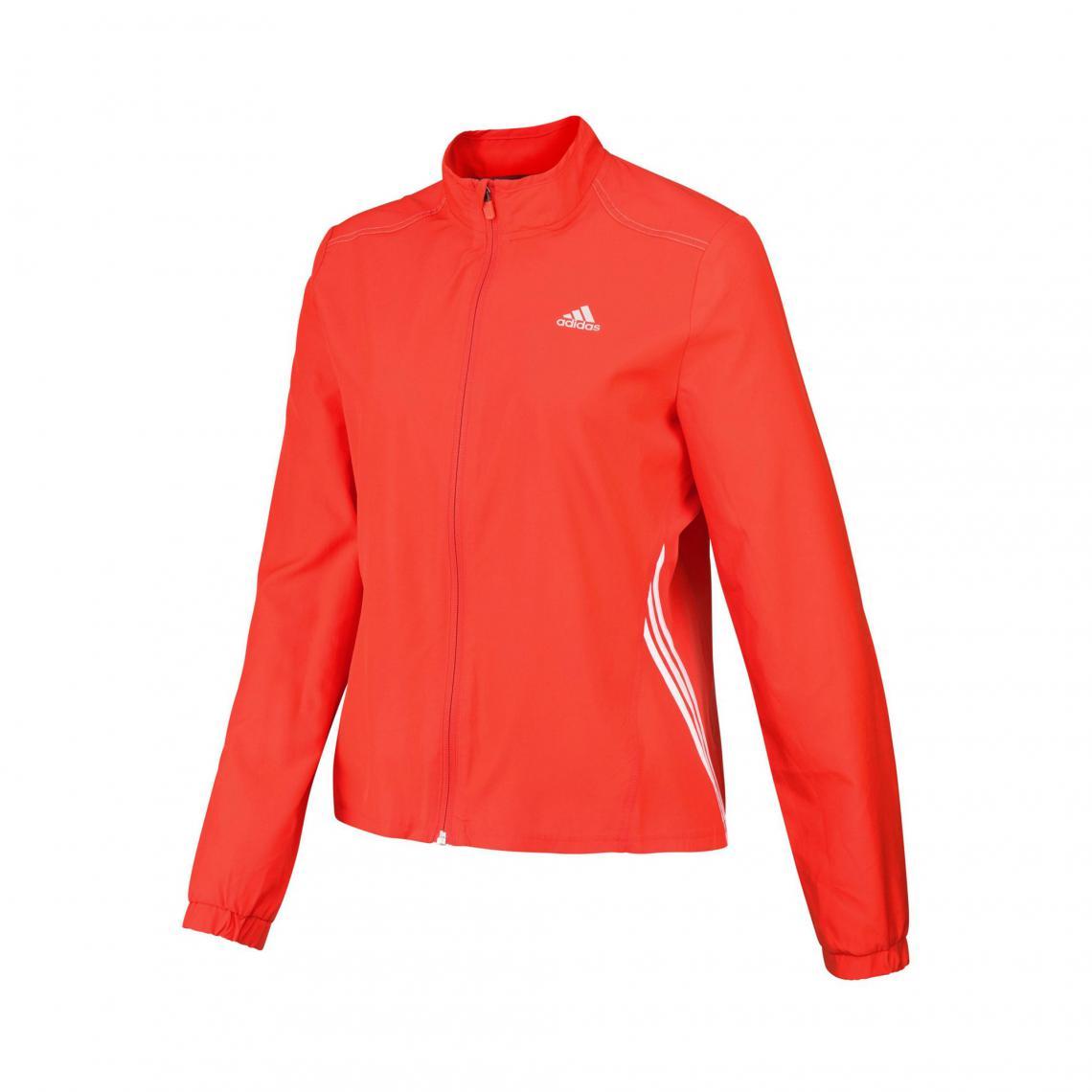 Veste running femme zippée Climalite adidas Performance Orange 1 Avis Plus de détails
