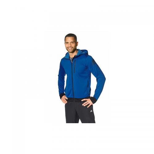 Adidas Performance - Veste sweat de training à capuche homme adidas Performance - Bleu - Promos vêtements homme