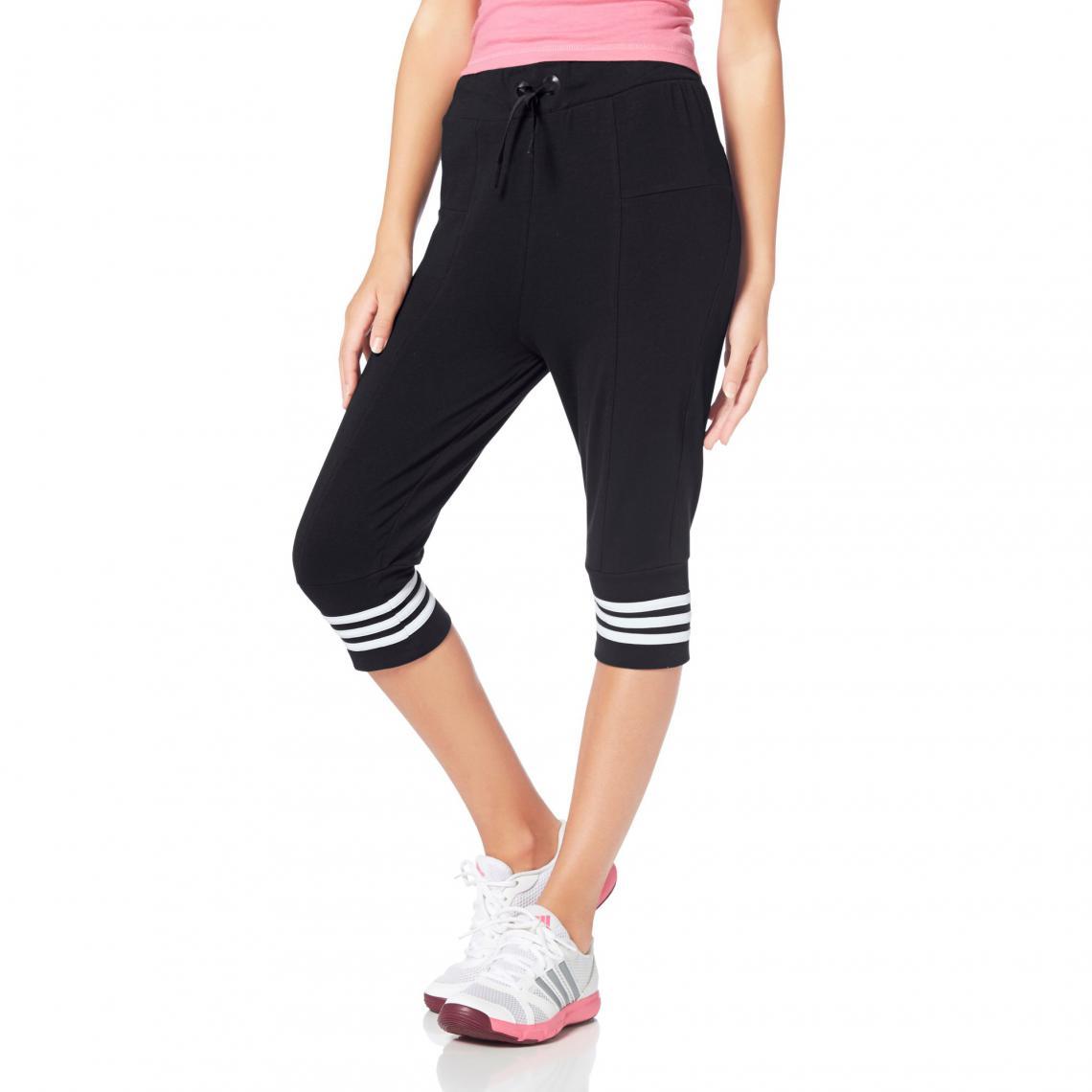 e9d22f28b4f08 Pantacourt de sport taille élastiquée enfant adidas Performance - Noir  Adidas Performance Enfant