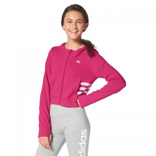 Adidas Performance - Veste courte à capuche Climalite® adidas Performance - Rose - Mode Enfant