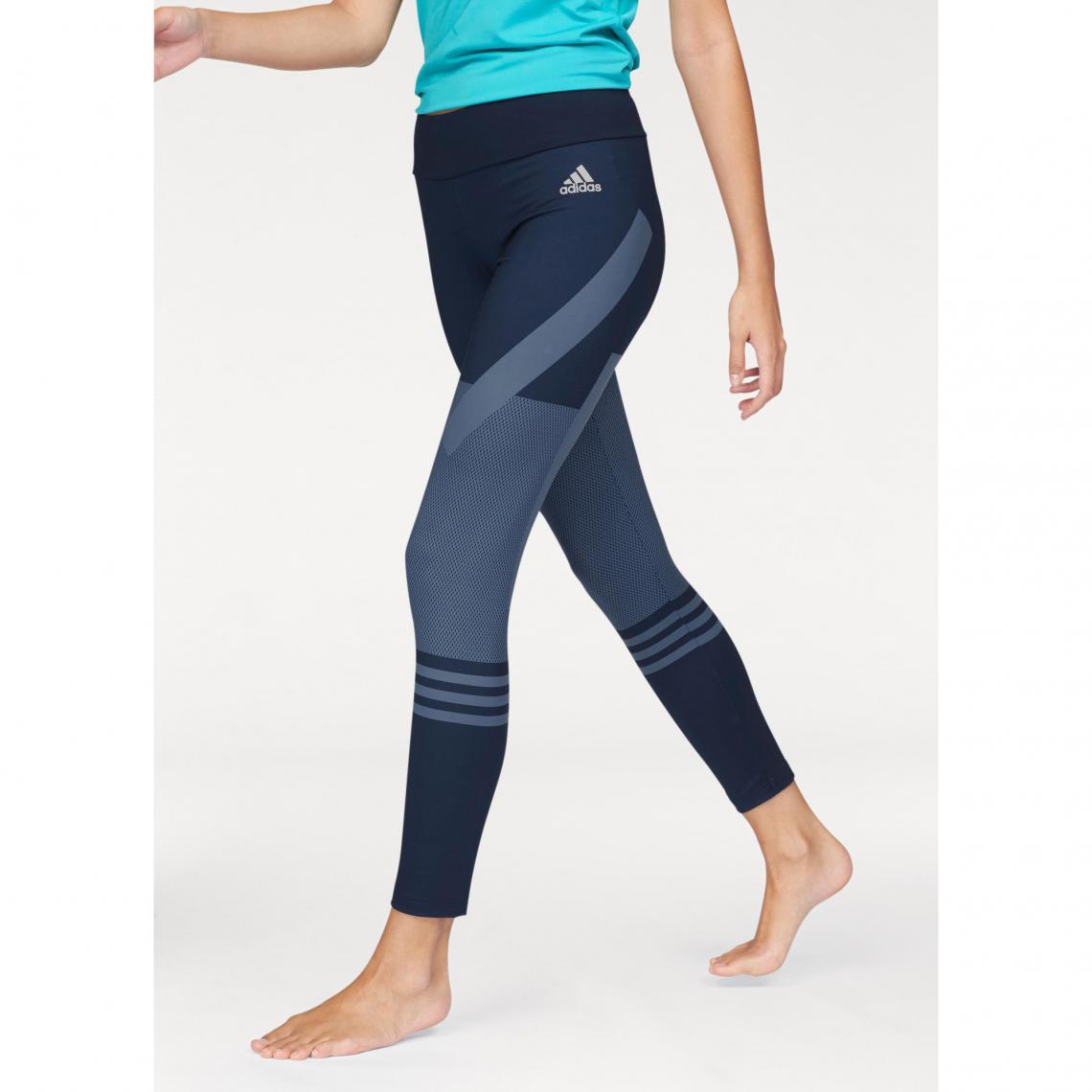 adidas Performance - legging graphique - pour femme - Bleu Adidas  Performance Femme 7c7ad43da3e