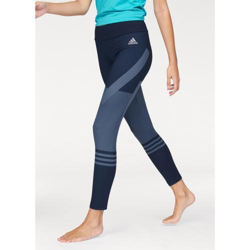 Adidas Performance - adidas Performance - legging graphique - pour femme -  Bleu - Pantalons de 9e6f183cf28