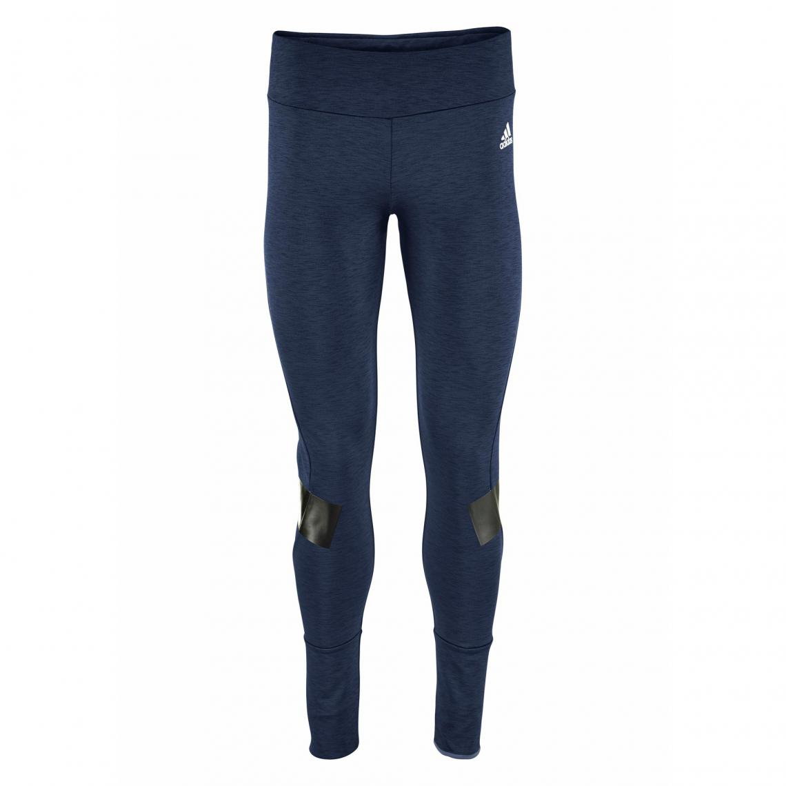 bdac7158d8771 Legging adidas Performance Warmer Tight femme - bleu foncé Adidas  Performance