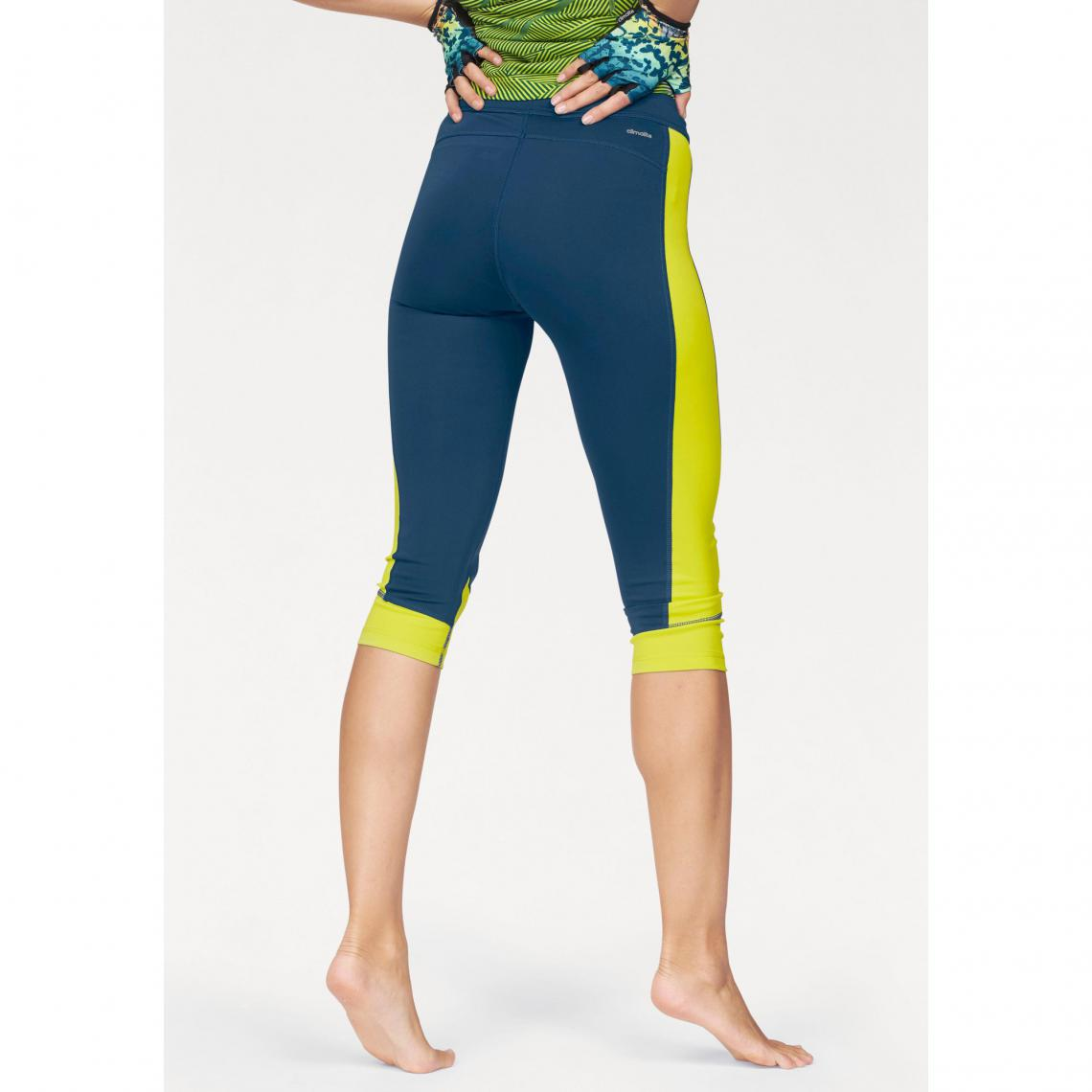 Legging ¾ adidas Performance Techfit Capri femme - Bleu  8e13b9fd124